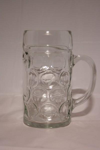1 Liter Glas Bierkrug (Isar Seidel)